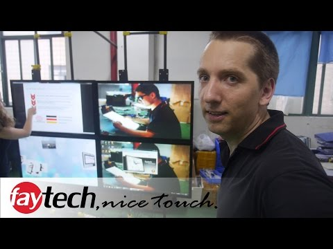 faytech industrial PC manufacturer in Shenzhen factory tour