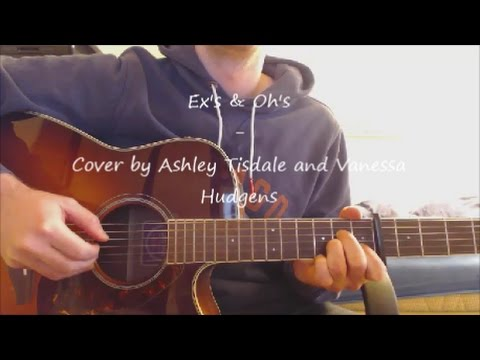"""GUITAR-Lesson: """"Ex's & Oh's"""" Cover by Ashley Tisdale ft. Vanessa Hudgens /EASY"""