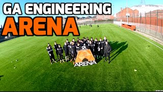 Dundee United GA Engineering Arena (Gussie Park)  Beautiful Sunday - DJI Phantom 2 Drone