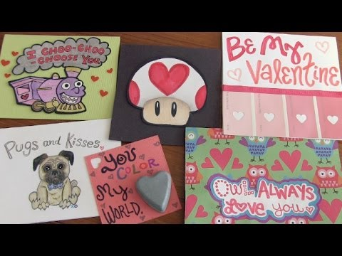 valentine's day cards for boys & girls - how to valentines, Ideas