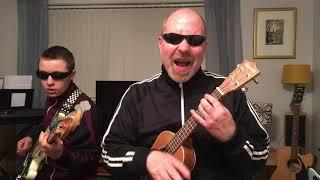 The Clash - Guns of Brixton - Cover.  Ukulele & Bass Guitar
