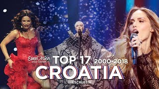Croatia in Eurovision - Top 17 (2000-2018)