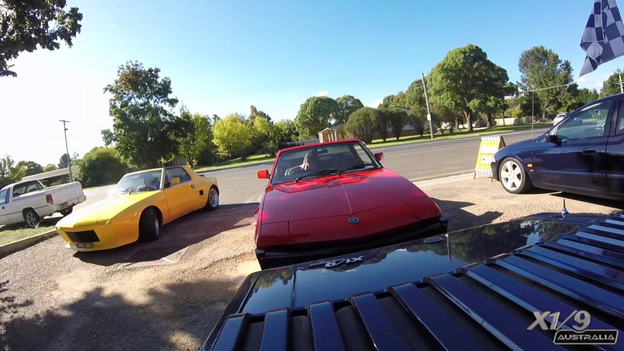 X1/9 Drive to AutoItalia Canberra