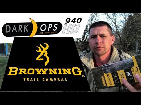 Browning Dark Ops 940 HD Trail Cam Review SWEET!!