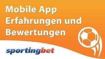 Sportingbet mobile App Erfahrungen und Bewertung