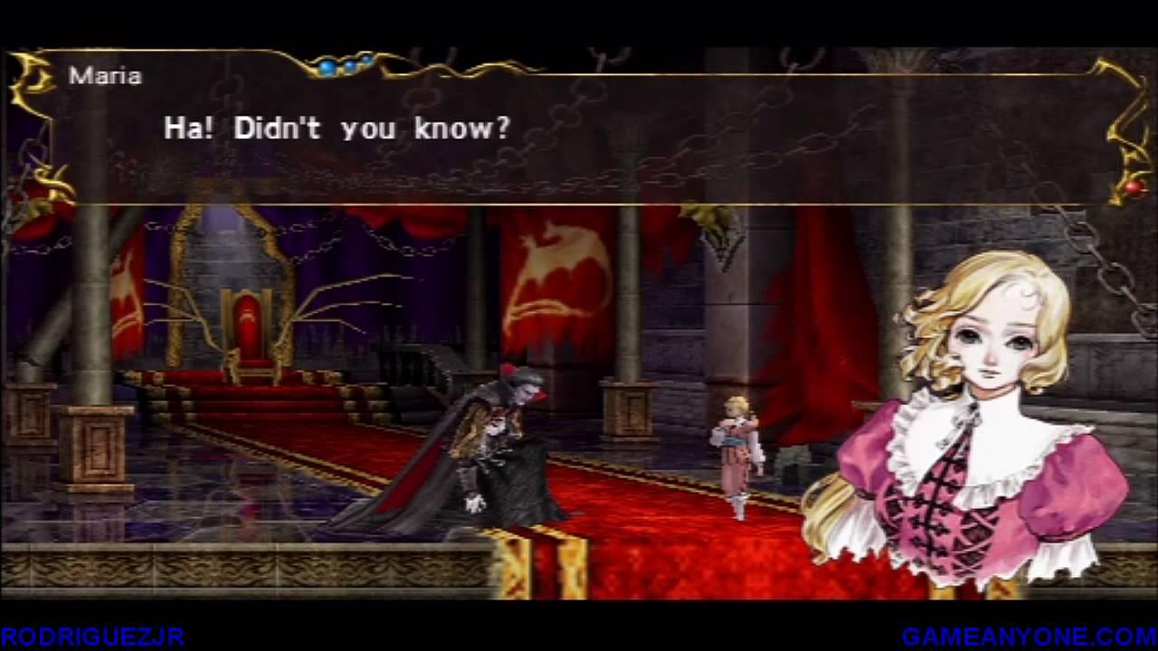 Castlevania The Dracula X Chronicles Walkthrough Stage 8 Good Ending Youtube
