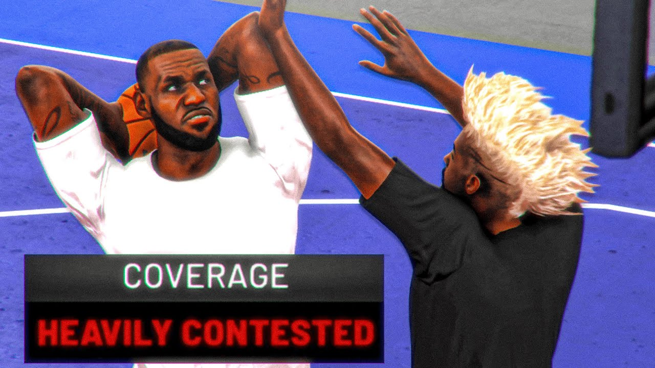 if the other team scores in NBA 2K20, the video ends...