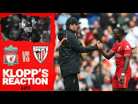 Klopp's Reaction: Athletic Club & the fans | Liverpool vs Athletic Club