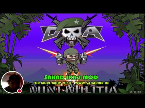 My Mini Militia mod www.sahadikr.in Stream