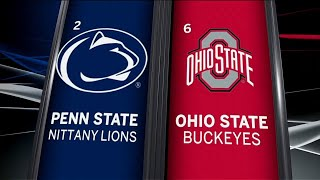 Penn State at Ohio State Highlights | Big Ten Football