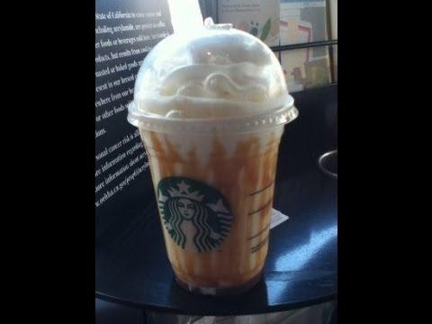 Butterbeer Starbucks Review 11-15-2013