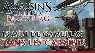 assassin s creed 4 black flag 13 minutes de gameplay dans les carabes fr officiel