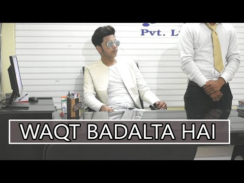 WAQT BADALTA HAI | THE UNEXPECTED TWIST | TIME CHANGES | AUKAAT | QISMAT | Abhishek kohli: Share this video to your friend and family.  Starts with hurt touching and ending with fun.. Very interesting story of a poor person.  Video is based on Waqt which could change any time. Watch till the end .. There would be an unexpected twist.  Song of - Ammi virkh Songs - #qismat #kholdedilkikhidki #pakemitra #welcomeback  #Waqt #vines #hourtouching #Abhishekkohli #entertainment #Elvishyadav #twist #Timechanges #Funnyvines #chaipeelo #trending #desivines #desi  Cast - Abhishek kohli , Aniket badsiwal , Rahul roy, Sunny daiya  Special thanks to #America spoken language pvt. Ltd. And #Hyundai company  Like , comment , Share and dont forget to subscribe the channel.. Abhishek kohli  Follow us on instagram https://www.instagram.com/realabhikohli/  Facebook https://m.facebook.com/profile.php?ref=bookmarks