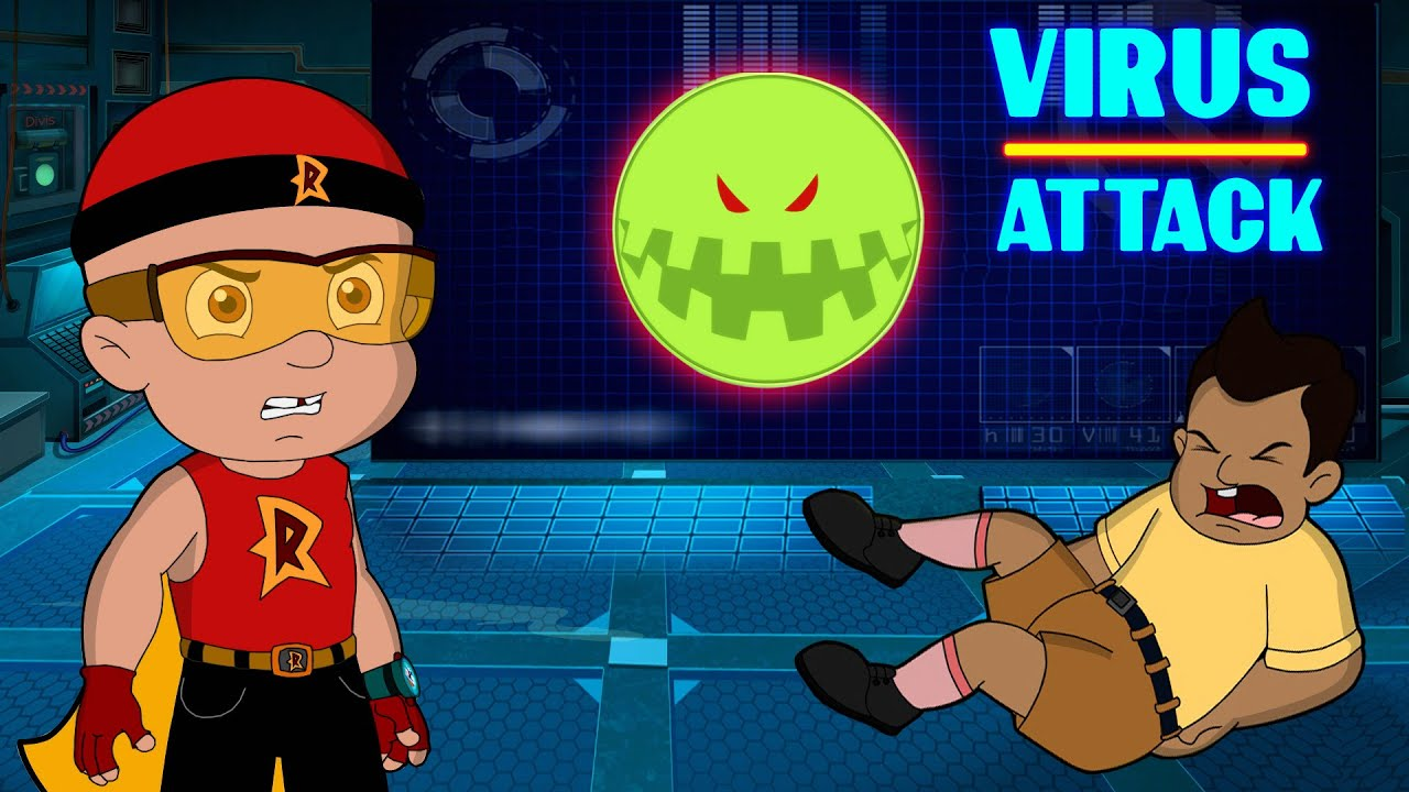 Mighty Raju - The Virus Attack | Cartoon for Kids in Hindi