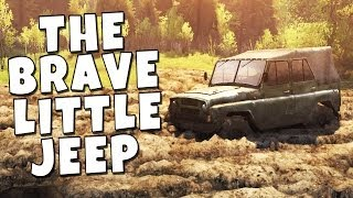Spintires Gameplay - The Brave Little Jeep