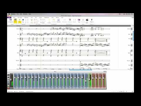 Guided Tour of Avid Sibelius 7