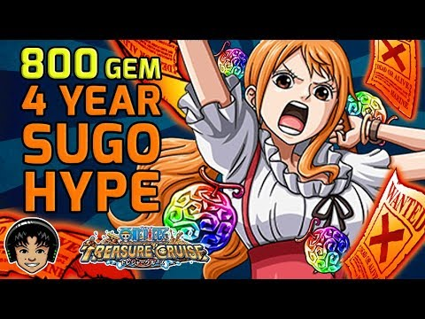 800 Gem 4 Year Anniversary SUGOFEST! It's The Big One! [One Piece Treasure Cruise]