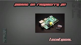 PIBANG! Installeren Op De Raspberry Pi