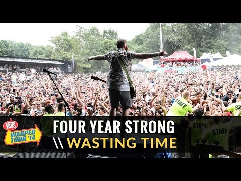 """Four Year Strong - """"Wasting Time (Eternal Summer) (Live 2014 Vans Warped Tour)"""