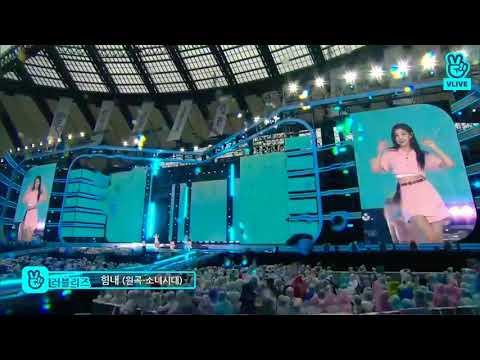 180512 LOVELYZ 러블리즈 COVER WAY TO GO 힘내 BY SNSD 소녀시대 @DREAM CONCERT 2018 full ver