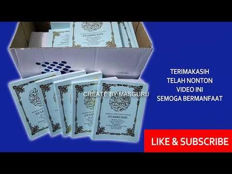 Tips Jilid Softcover Buku Yasin By MasGuru