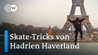 The Truman Burbank: Skateboard-Tricks von Hadrien Haverland   Euromaxx