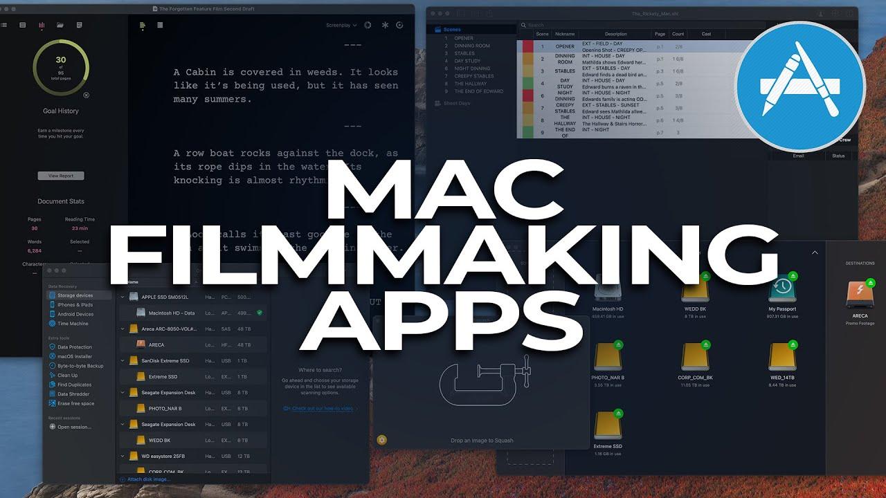 My Favorite Filmmaking Mac Apps in 2021