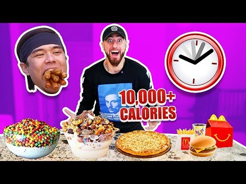 I Only Ate Like MATT STONIE For 24 Hours! *IMPOSSIBLE FOOD CHALLENGE*