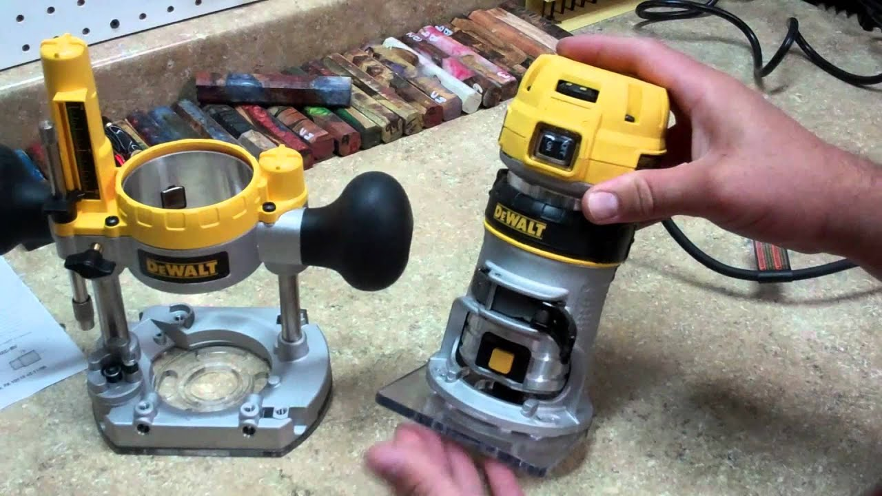 Dewalt dwp611pk compact router review youtube greentooth