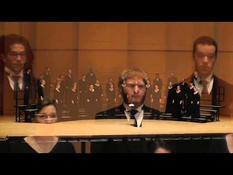 """CWU Chamber Choir: Daniel Schreiner """"Fear Not"""""""