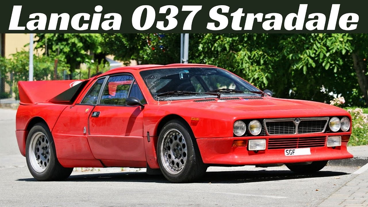 Lancia 037 Stradale - YouTube