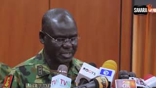 Direct And Public Incitement of Nigeria's Military Against Democracy Will Not Be Tolerated - Buratai