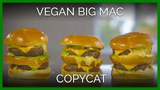 Healthy Vegan Big Mac Copycat Recipe