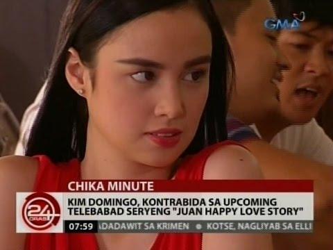 "24 Oras: Kim Domingo, todo handa na sa sexy scenes niya sa ""Juan Happy Love Story"""