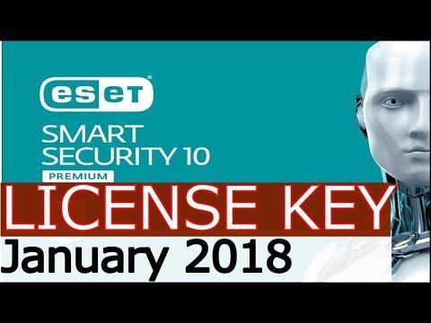 eset smart security premium activation key 2018