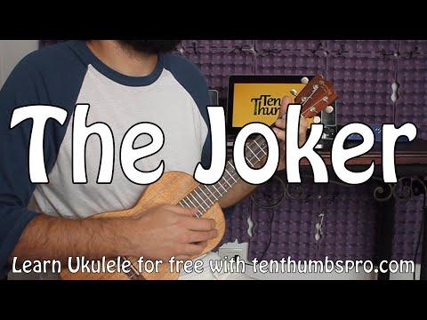 The Joker - Steve Miller Band - Ukulele Tutorial - Easy Strummer and full bass versions.