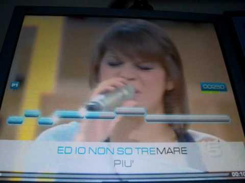 Me Singing Alessandra Amoroso - Immobile @ ULTRASTAR DELUXE