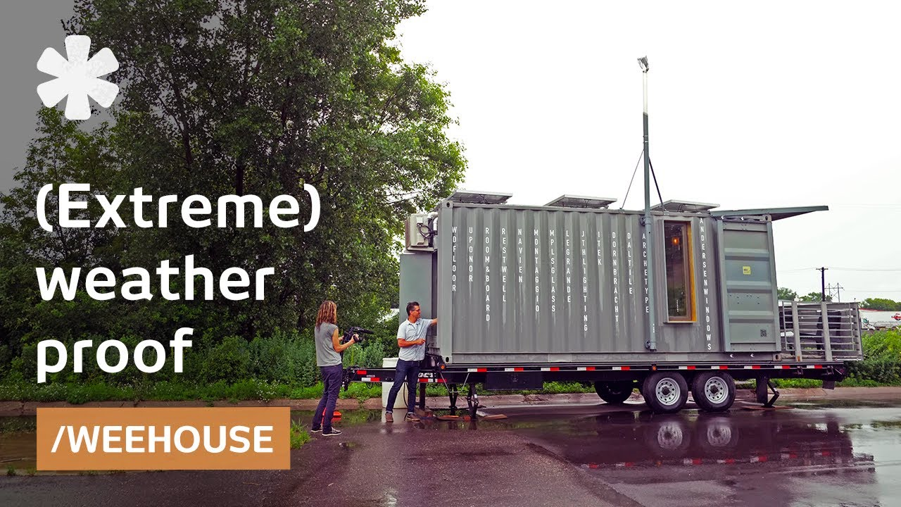 Mn Tiny Home Pioneer Turns Containers Into Airtight Wee