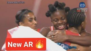 Download Video Woman's 4x100m final Asian Games 2018 Jakarta-Palembang MP3 3GP MP4