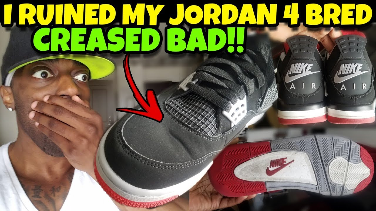 I Wore Jordan 4 Bred 5 Days Straight