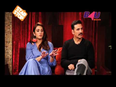 Akshay Kumar & Huma Qureshi - Jolly LLB 2 | EXCLUSIVE INTERVIEW | B4U Star Stop