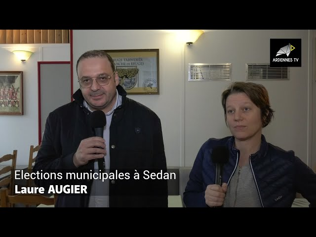 ÉLECTIONS MUNICIPALES 2020 À SEDAN - Laure AUGIER