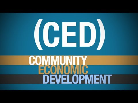 Community Economic Development: It's time for a change