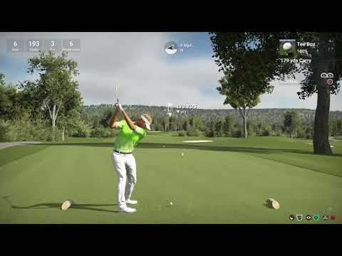 Luke Donald plays Fox Chapel Golf Club