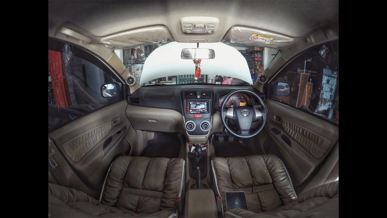 Modifikasi Audio Mobil Toyota Avanza Menggunakan Paket