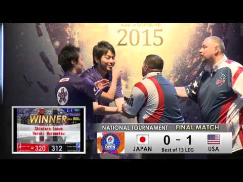 National Tournament Final -DARTSLIVE OPEN 2015 SHANGHAI