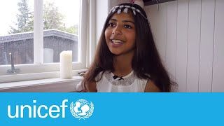 Norwegian man welcomes refugees with open arms | UNICEF