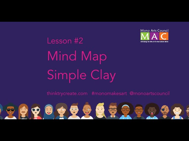 Mono Makes Art Lesson#2: MindMap & Simple Clay