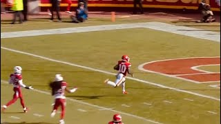 Patrick Mahomes finds Tyreek Hill for this amazing touchdown! | Chiefs vs. Cardinals; NFL week 10