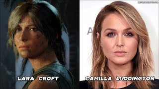 Characters Voice Actors - Shadow Of The Tomb Raider